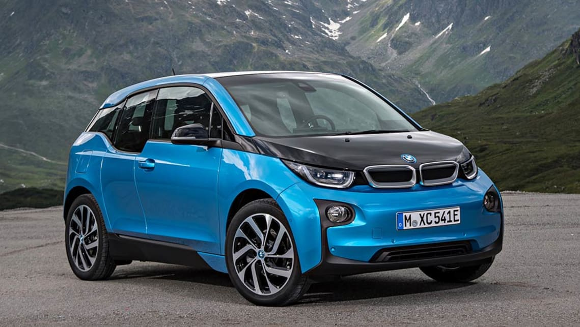 The updated BMW i3 electric car set to appear at the Paris Motor Show.