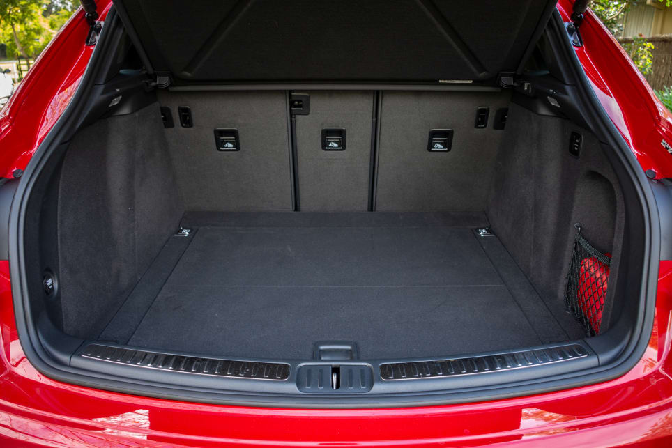 The boot has a whopping 488 litres of space.