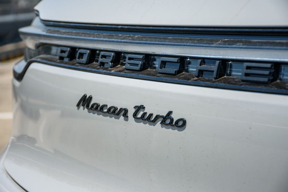 2020 Porsche Macan Turbo (image: James Cleary)