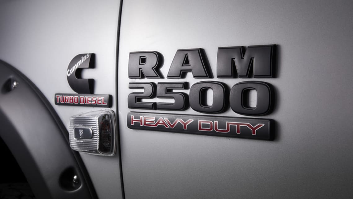 Ram announces Code Black 2500 limited edition