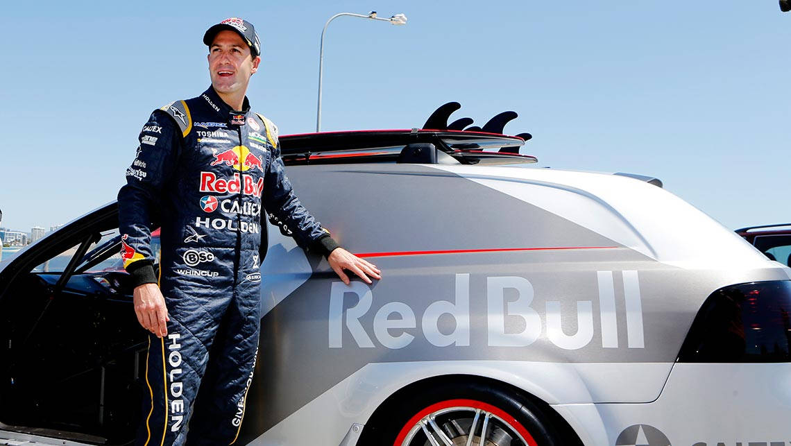 Jamie Whincup inquires about the cost of getting a mattress to put in the back