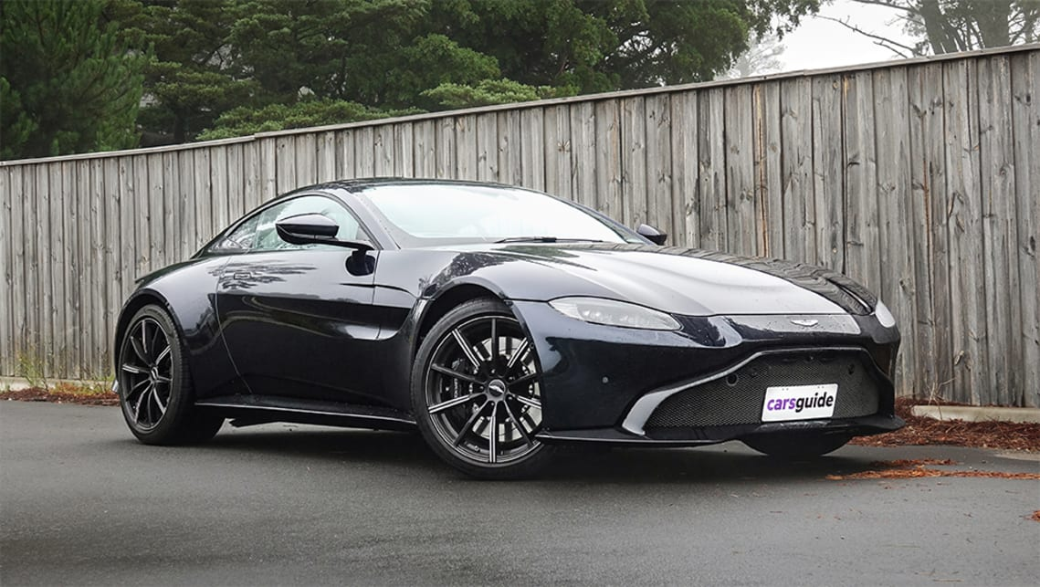 Does the Vantage occupy a unique space in the $300k sports car class?