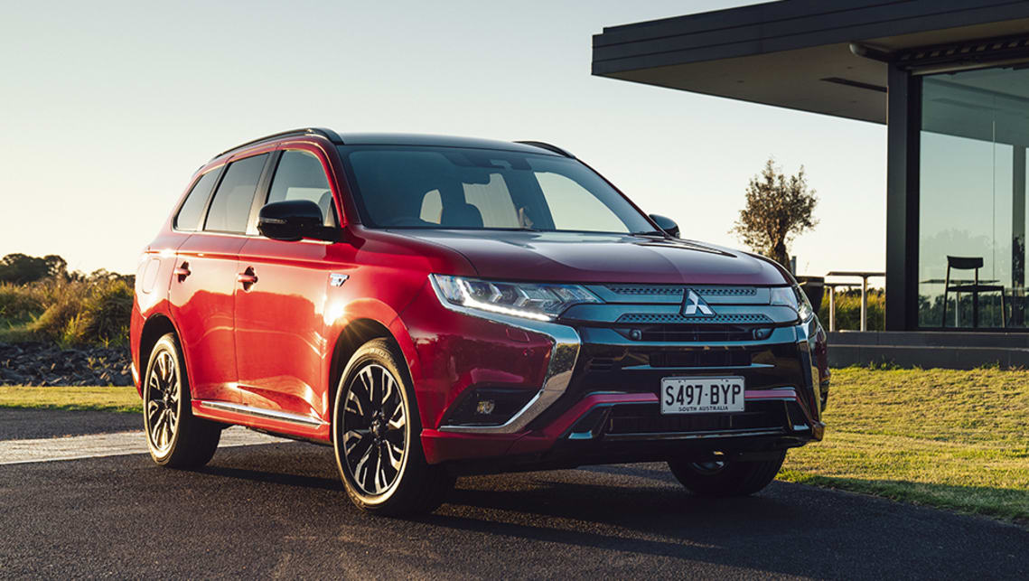 mitsubishi outlander 2021 review phev  carsguide