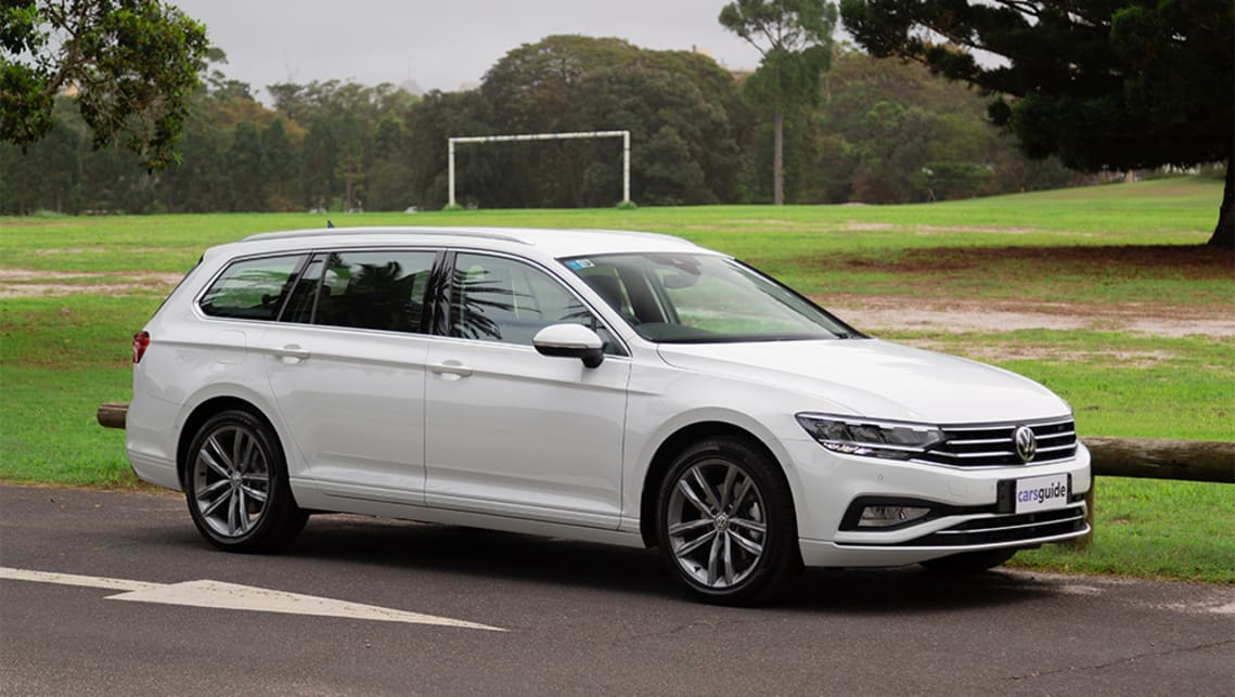 Vw Passat 2020 Review 140tsi Business Wagon Carsguide