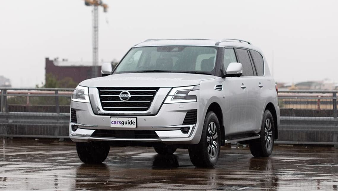 Nissan Y62 Series 5 Patrol 2020 Review Ti L Carsguide