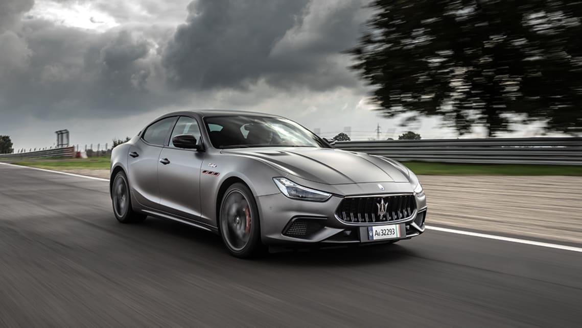 Maserati Ghibli 2021 Review Trofeo Mercedes Amg C63 Rival Packs A Ferrari V8 Engine Carsguide