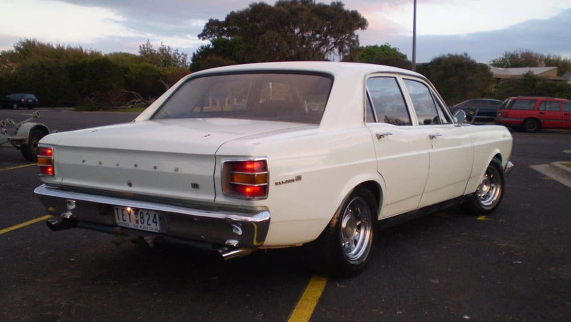 Richard Berry's 1970 XW Ford Falcon 500.