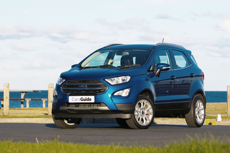 Ford Ecosport Titanium Petrol Fwd 2018 Off Road Review