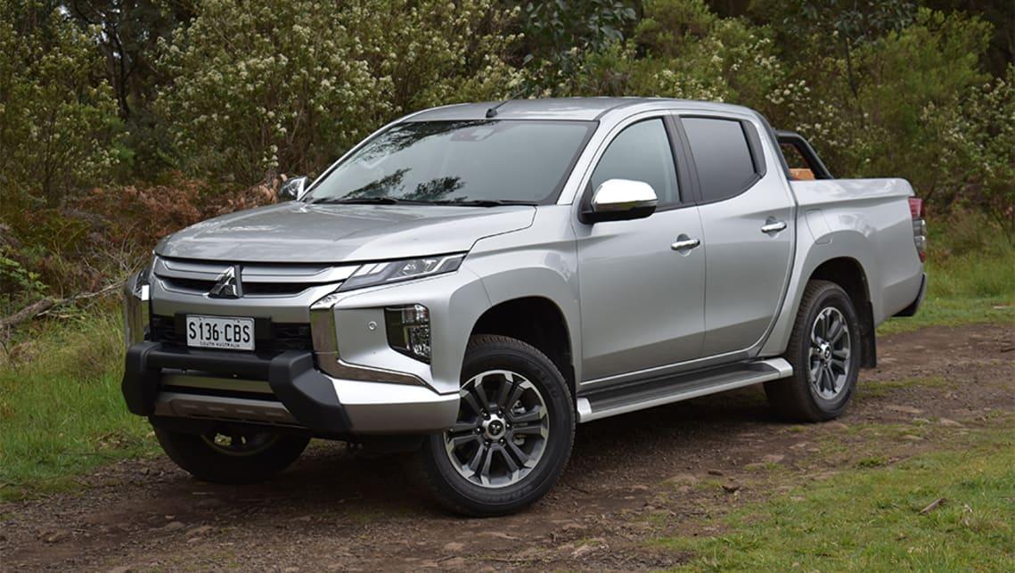 Mitsubishi Triton 2020 Review Gls Premium Gvm Test Carsguide