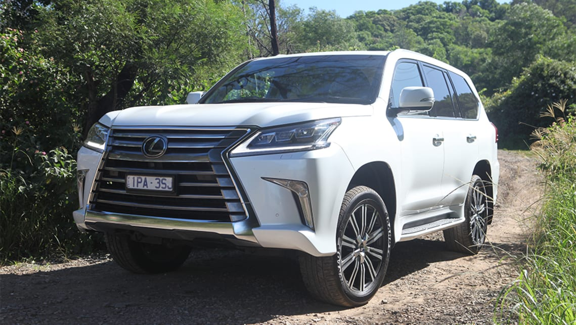 Lexus Lx570 2020 Review Off Road Test Carsguide