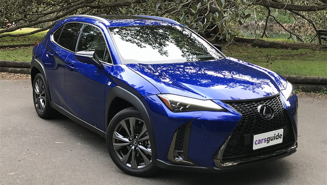 Lexus Ux 2020 Review 200 F Sport Carsguide