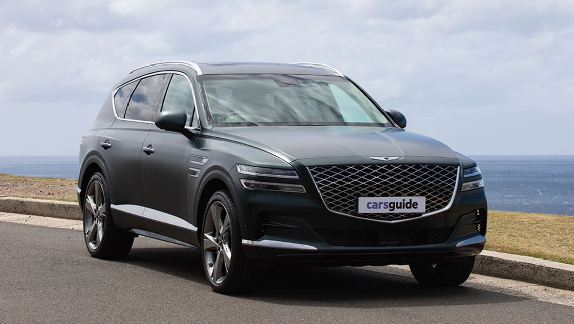 Genesis Gv80 2021 Review 3 5t How Does The Big Luxury Suv Suit Family Life Carsguide