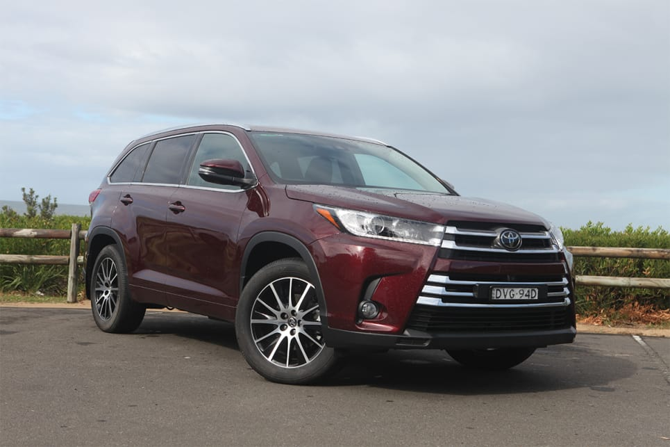 Toyota Kluger 2020 Review Gxl Black Carsguide