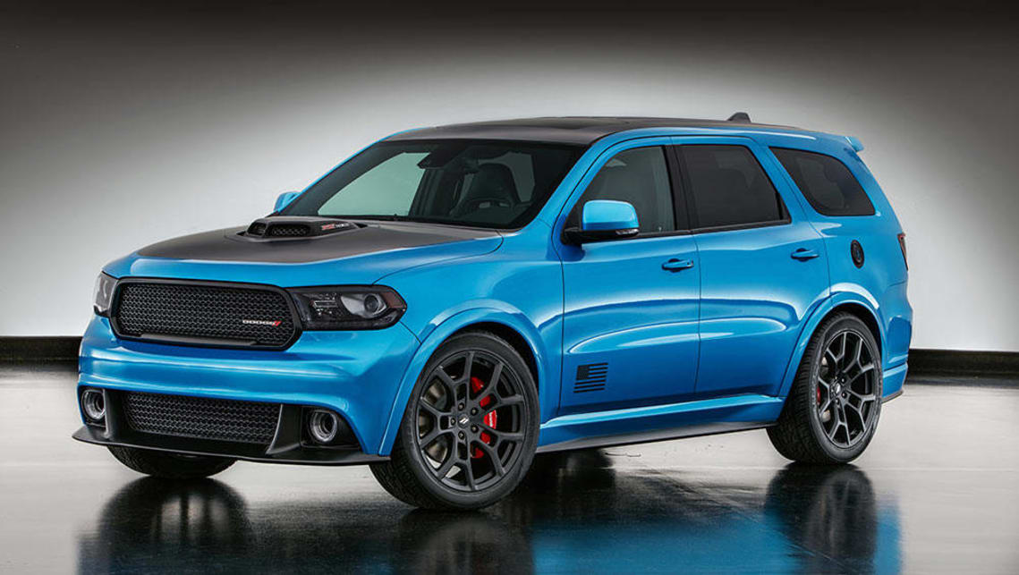 2016 SEMA Dodge Durango Shaker | press images