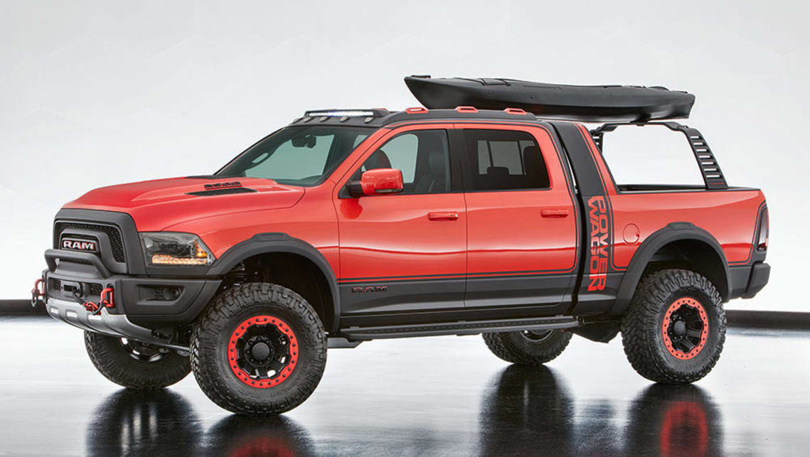 2016 SEMA Ram Macho Power Wagon.