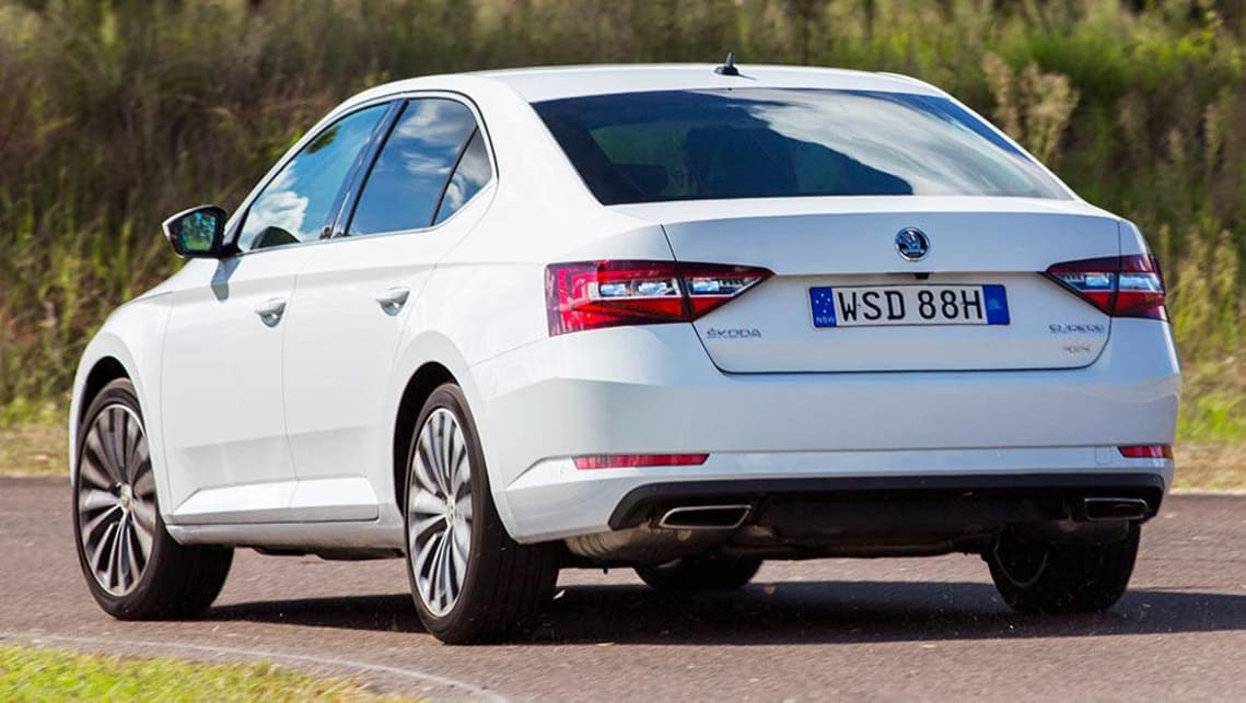 Skoda Superb 2016 Review Carsguide