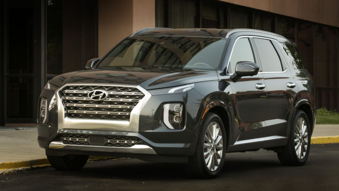 Best 7 Seater Suv 2020.Hyundai Palisade 2020 Huge Toyota Kluger Rivalling Suv