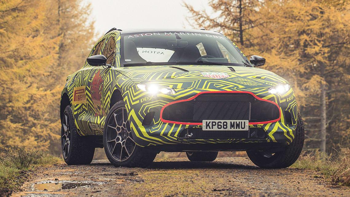 Aston Martin DBX SUV Concept: Design, Specs >> Aston Martin Dbx Suv Breaks Cover In Camo Car News Carsguide