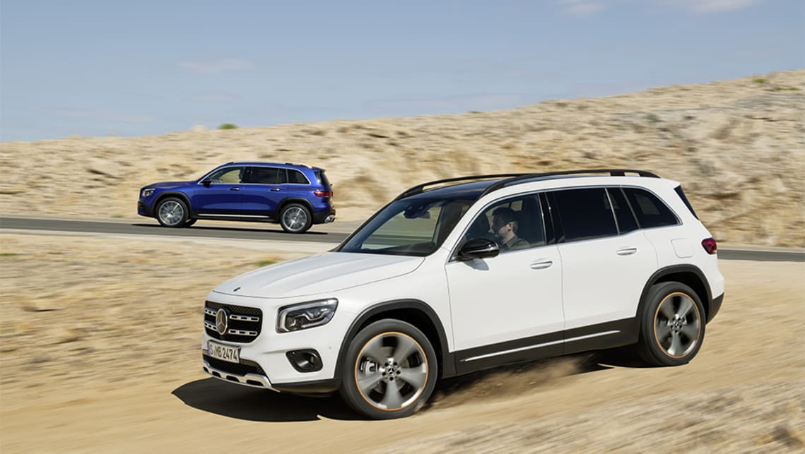 2020 Mercedes – Benz GLB SUV Release Date And Plug-In Hybrid Specs >> Mercedes Benz Glb 2019 Revealed Car News Carsguide