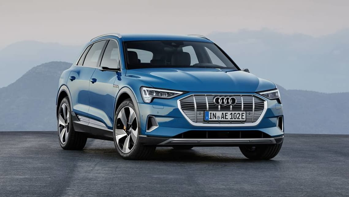 Electric SUV segment lights up as Audi charges in with e-tron.