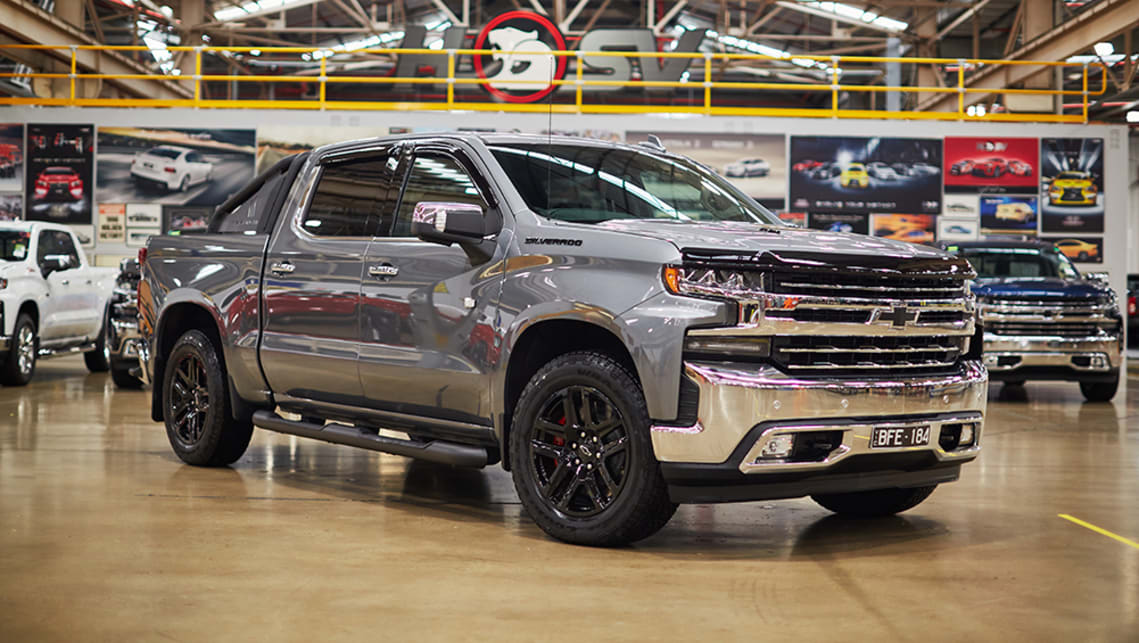New Chevrolet Silverado 1500 2020 Pricing And Specs Detailed Hsv S V8 Ute Takes On Flagship Ram Dual Cab Pick Up Car News Carsguide