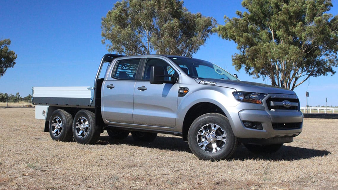 Six Wheeler Conversions The Truth About 6x4 And 6x6 Ute Conversions Carsguide