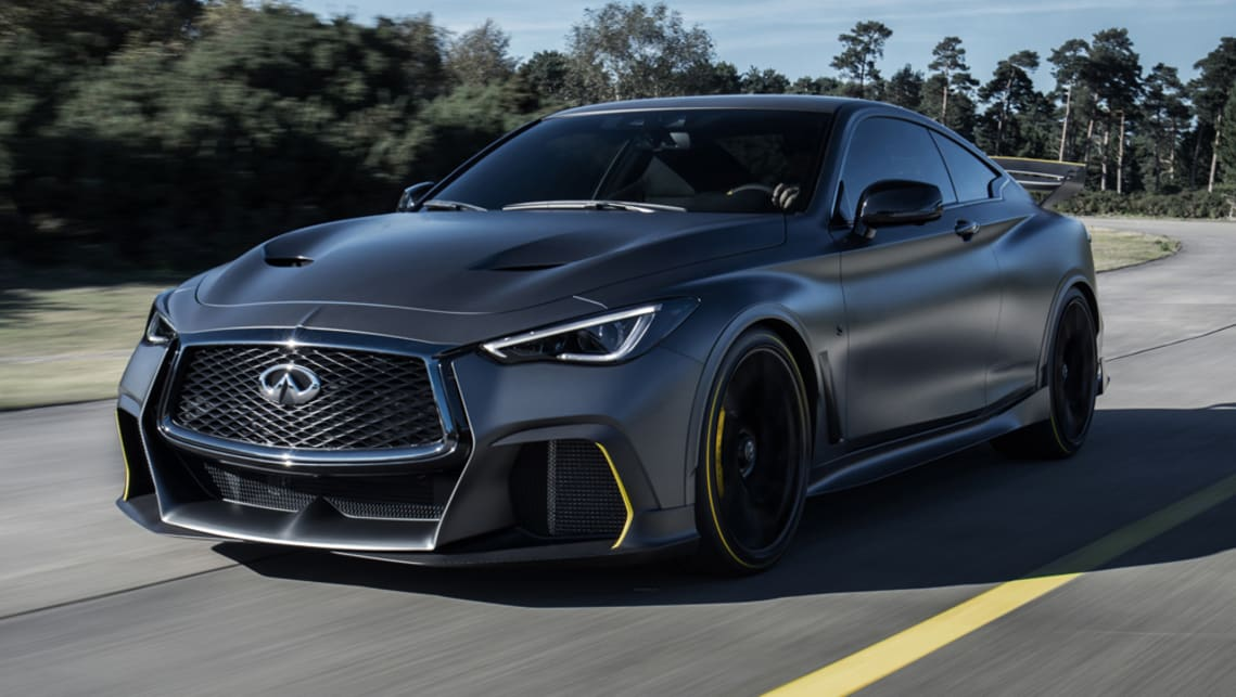 Infiniti Q60 Project Black S 2020 Bmw M4 Rivalling Coupe