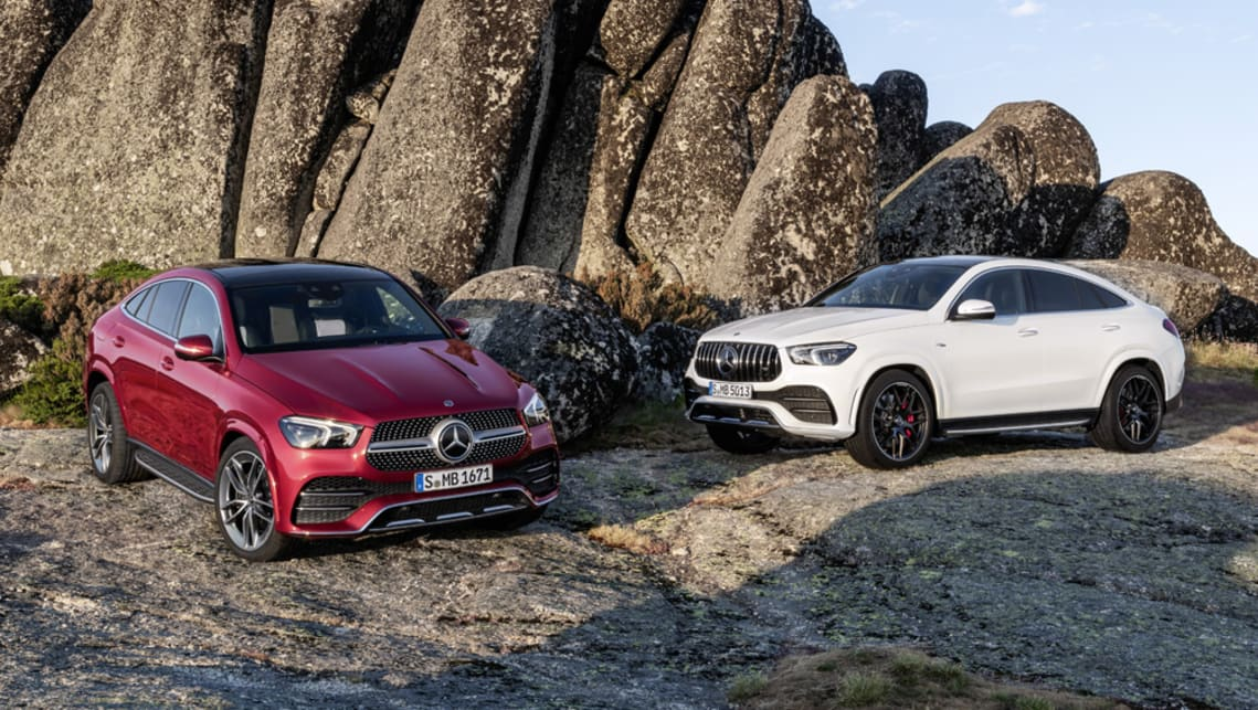 Mercedes Benz Gle Coupe 2020 Breaks Cover Australian Arrival Q2 Next Year Car News Carsguide