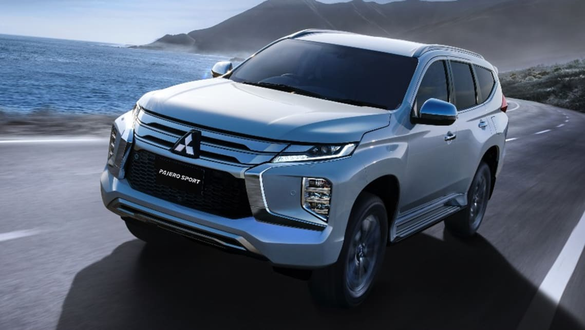 Mitsubishi Pajero Sport 2020 Uncovered New Look And Added Safety For Large Suv Off Roader Car News Carsguide