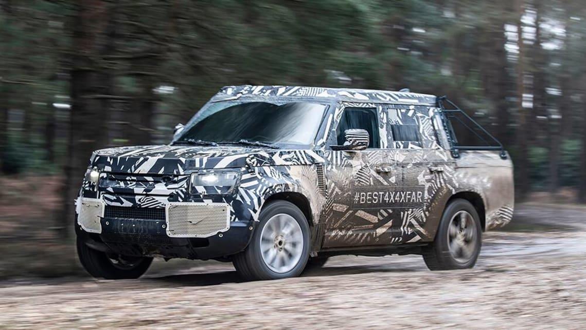 2020 Land Rover Defender: News, Design, Release, Price >> Defender Ute Land Rover Considering Ford Ranger Rival Car