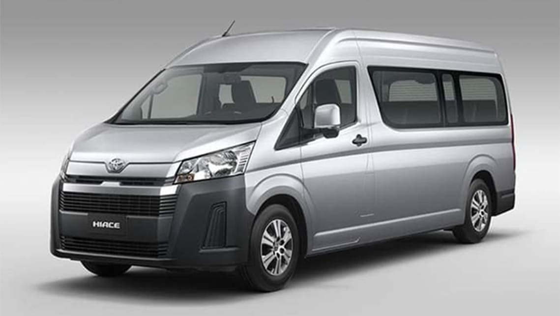 The next-generation Toyota HiAce is set to be longer and more edgily designed.
