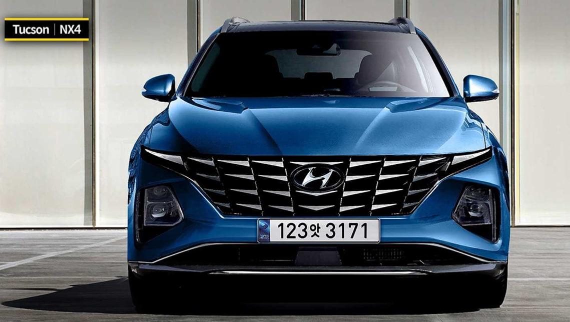 New Hyundai Tucson 2021 rendered: Next-gen Toyota RAV4 ...