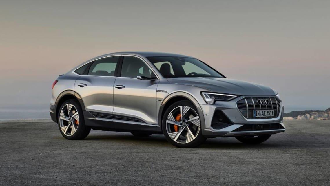 Audi E Tron Sportback 2020 Germany S Tesla Model X Rival Arrives Car News Carsguide