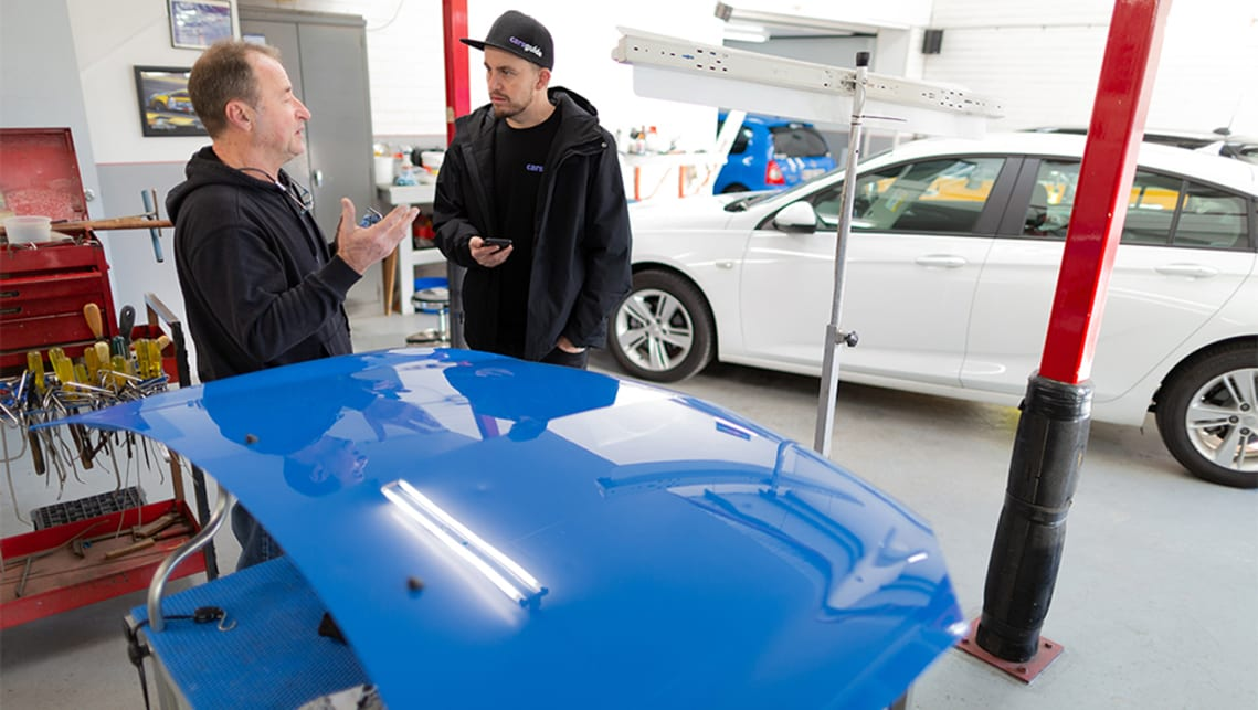 Hail Damage Car Repair Costs Insurance Info Auctions Carsguide
