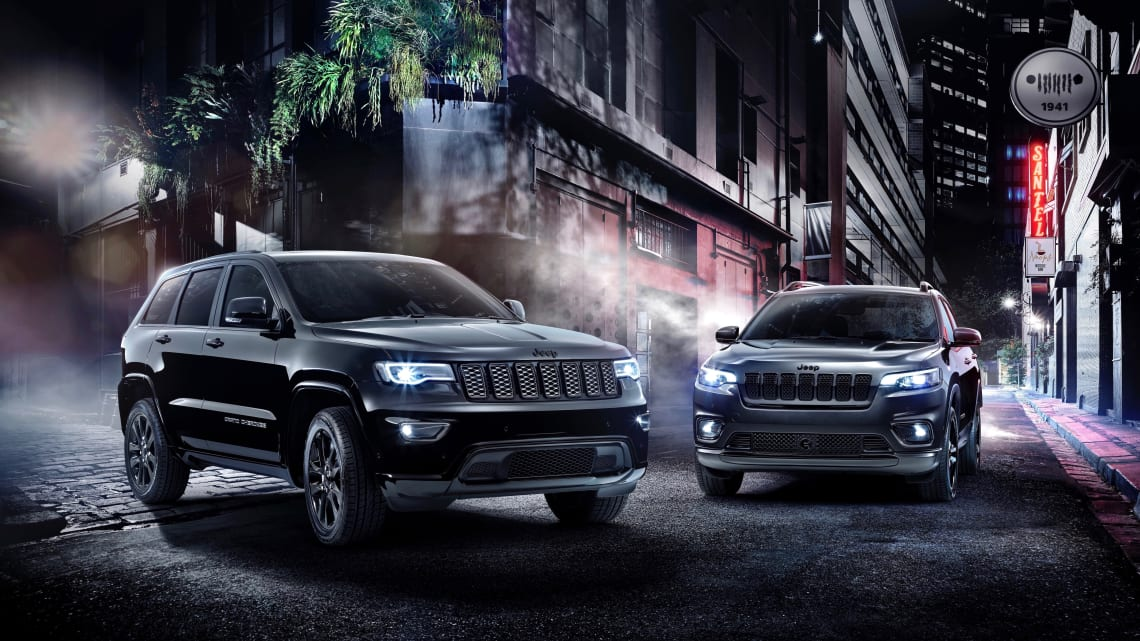 Jeep Cherokee And Grand Cherokee Night Eagle Editions Announced Car News Carsguide