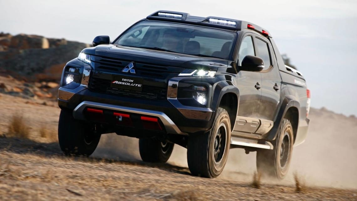 2020 Mitsubishi Triton Price, Release Date, Changes, And Specs >> Mitsubishi Triton Absolute Previews Raptor Rival Car News