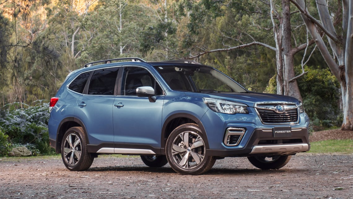 The top-spec 2.5i-S tops off the Forester range, starting at $41,490. (2.5i-S variant pictured)