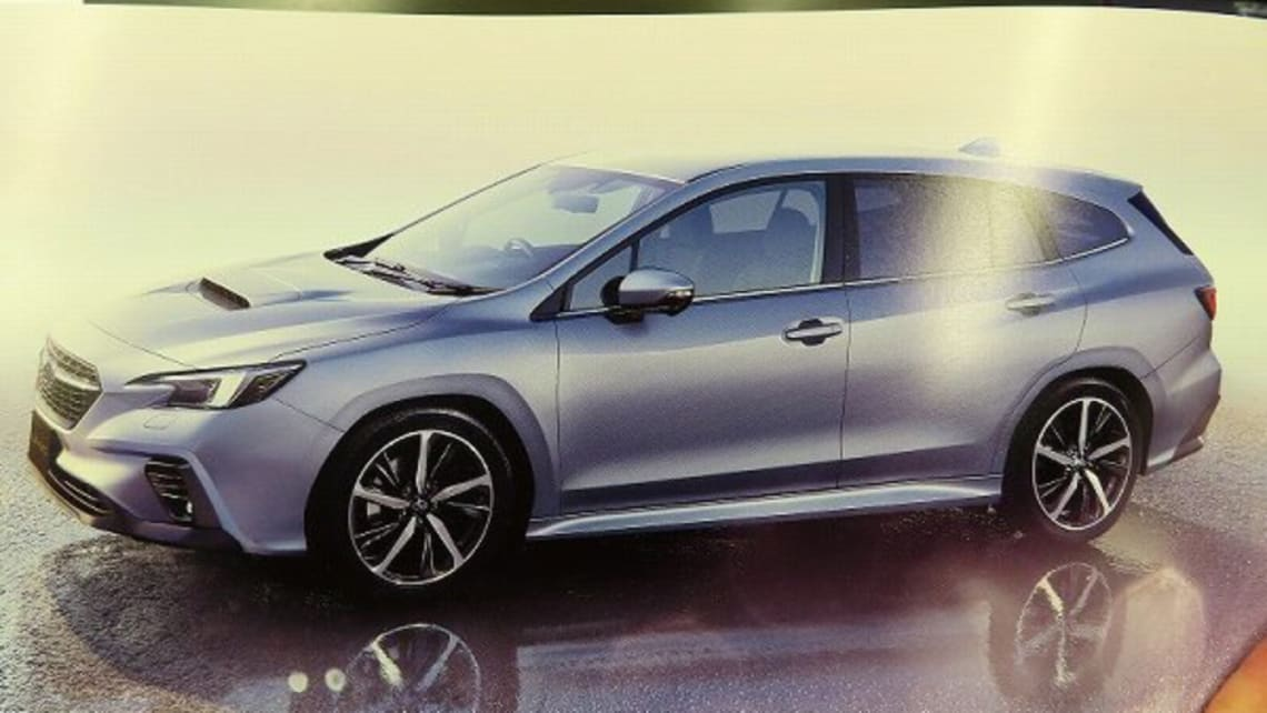 New Subaru Levorg 2021 Leaked Premium Interior And More Technology For Sporty Wagon Car News Carsguide