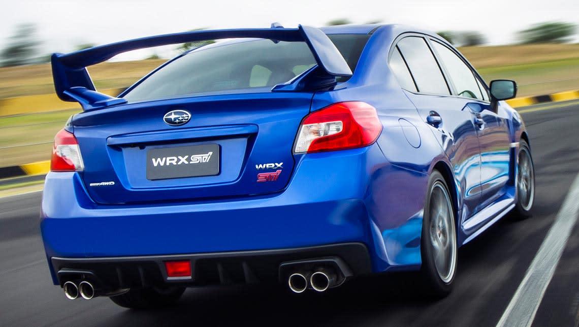 2014 Subaru Wrx Sti >> Subaru Wrx Sti 2014 Review Carsguide