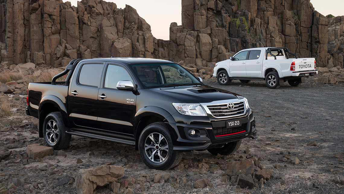 2014 Toyota HiLux Black Edition