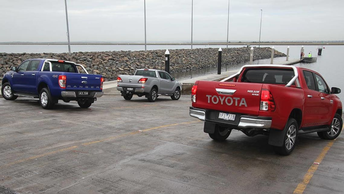 Toyota HiLux, Ford Ranger and Mazda BT-50 2015 review