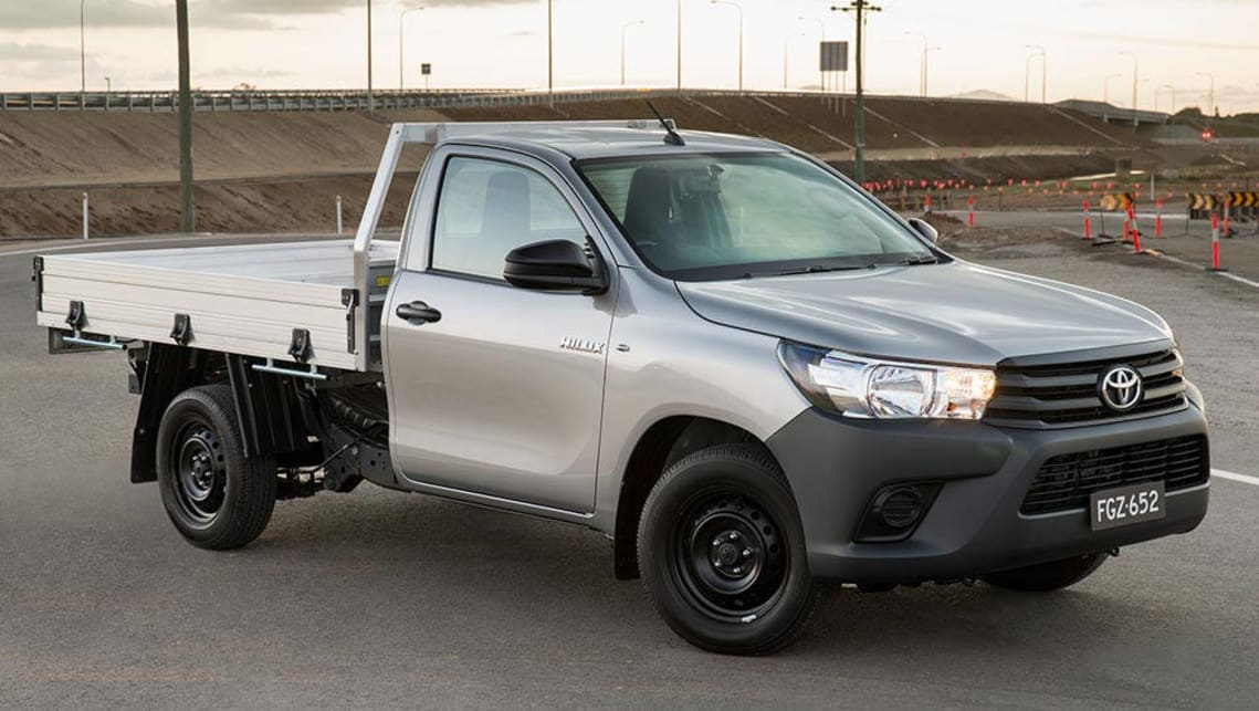 2015 Toyota HiLux Workmate single-cab