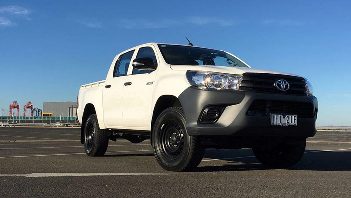 Toyota Hilux Workmate 4x4 Auto Dual Cab 2016 Review Carsguide