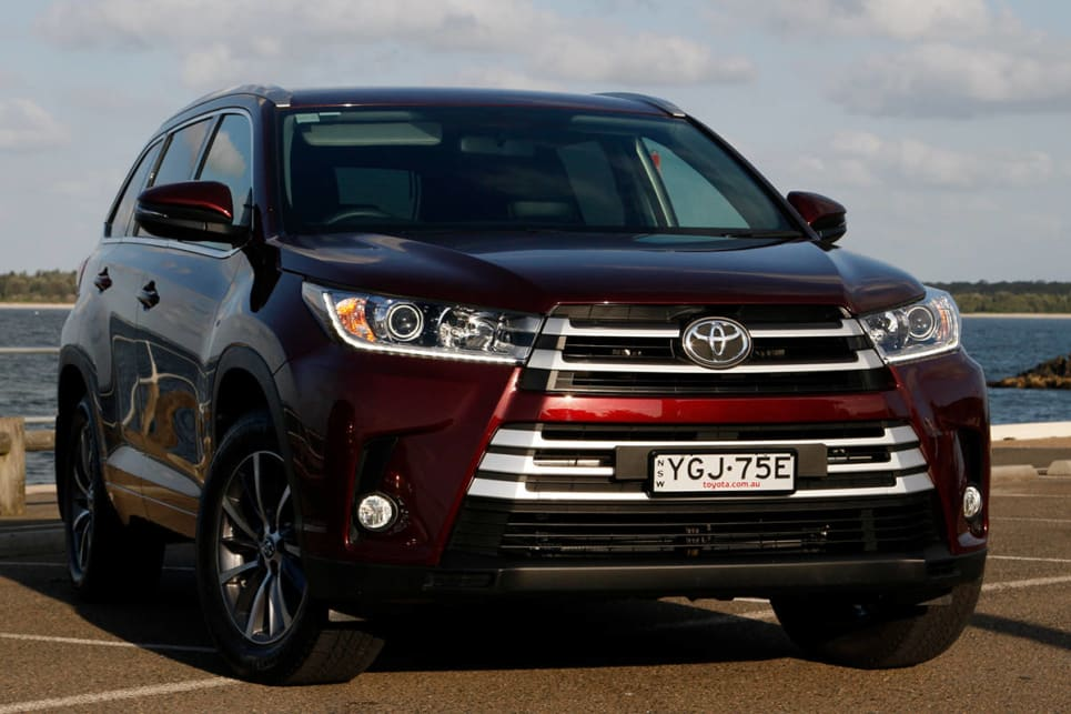 Toyota Kluger Gxl Awd 2017 Review Carsguide