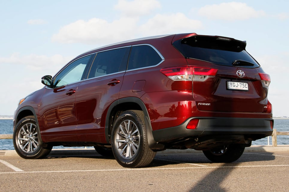 2017 Toyota Kluger GXL AWD.