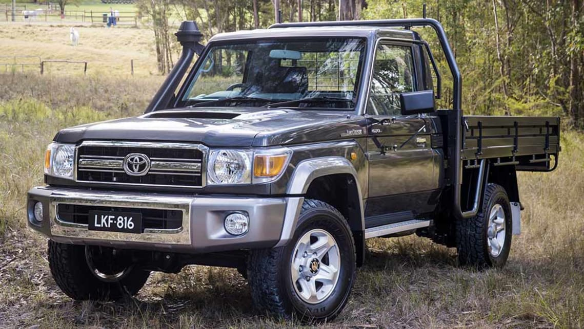 Toyota Land Cruiser 70 >> Toyota Land Cruiser 70 Series Gets Stability And Traction