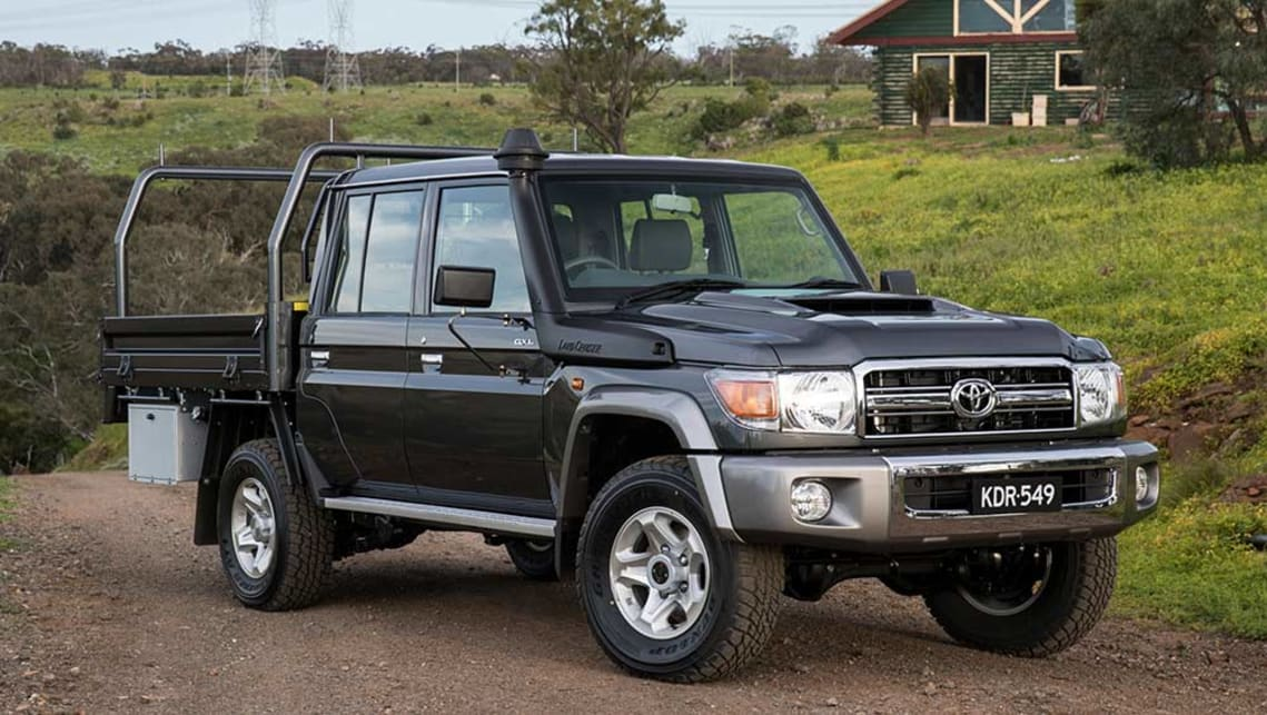 Toyota Land Cruiser 70 >> Toyota Land Cruiser 70 Series Dual Cab 2016 Review Snapshot