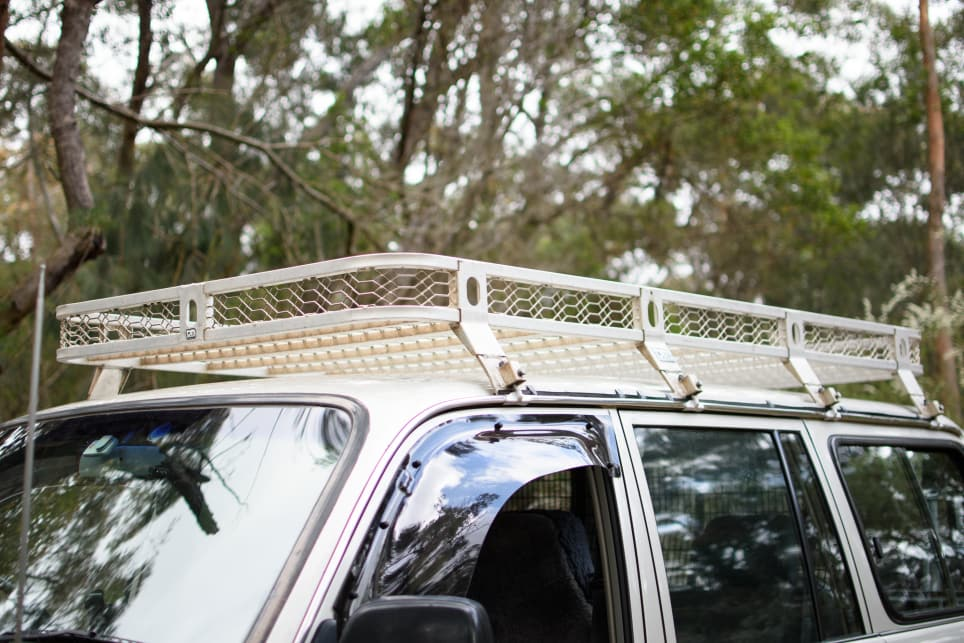 The 80 has roof-edge gutters so it's pretty easy to find a roof rack for it. (image credit: Tom White)
