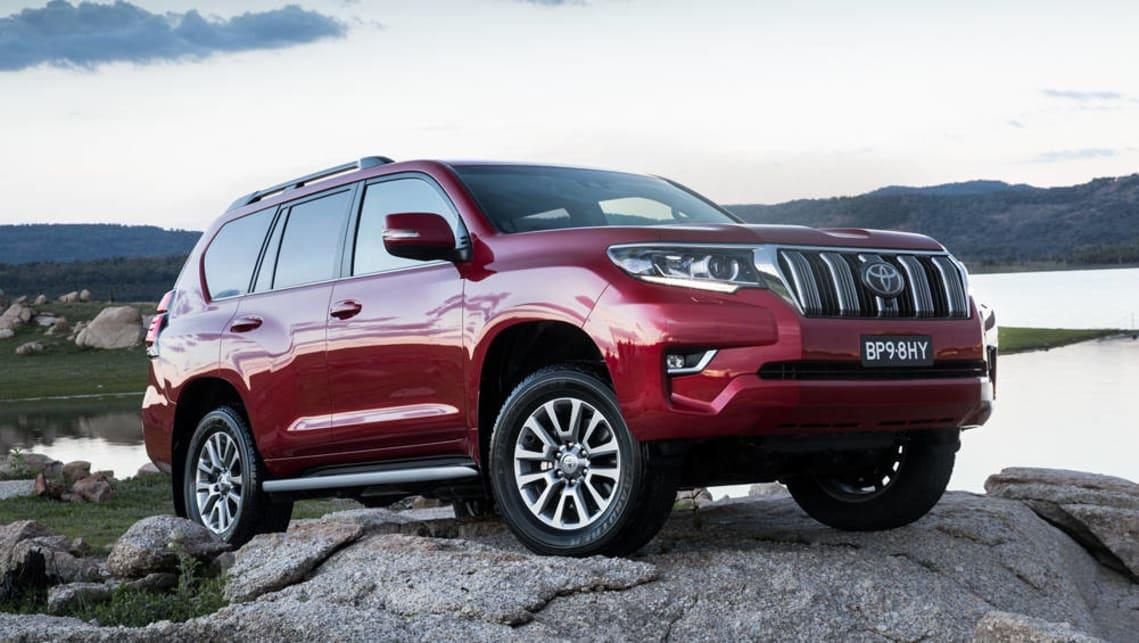 Expert Rating Reviews >> Toyota Prado 2018 VX review: snapshot | CarsGuide