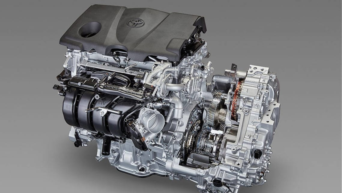 "Toyota's new ""Dynamic Force Engines""."